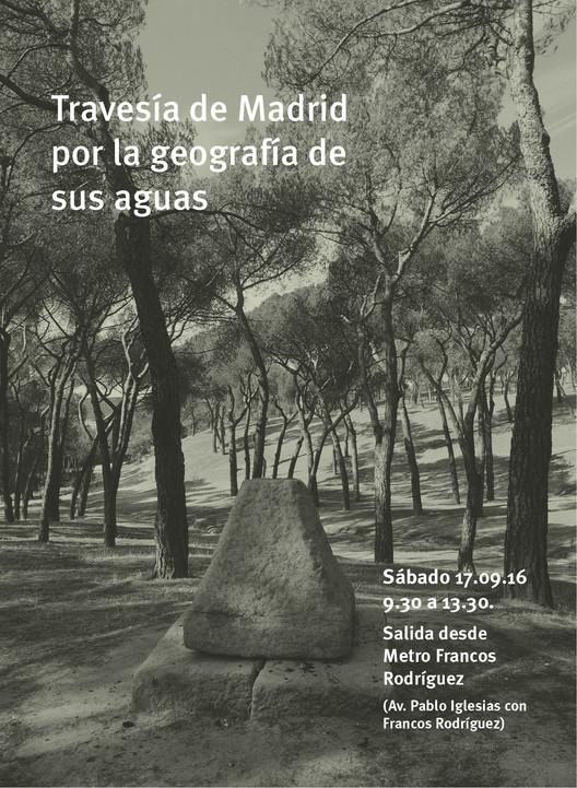 Travesía de Madrid por la geografía de sus aguas, Camila Kuncar