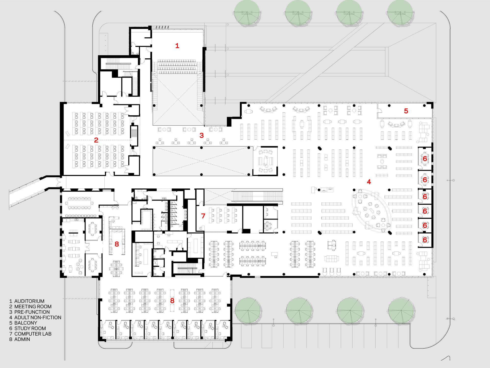 Gallery Of Cedar Rapids Public Library Opn Architects 13