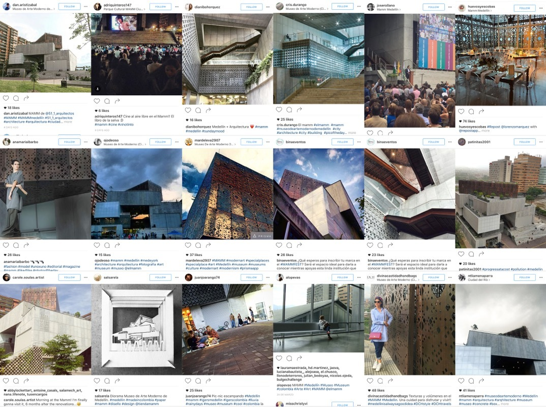 El museo de arte moderno de medell n celebra su primer for Arquitectura materias