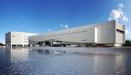 Cais das Artes / Paulo Mendes da Rocha & METRO. Image Courtesy of Paulo Mendes da Rocha