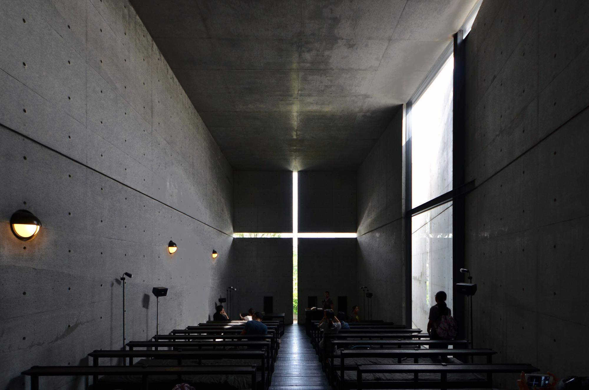 Spotlight: Tadao Ando, Church of the Light. Image  <a href=