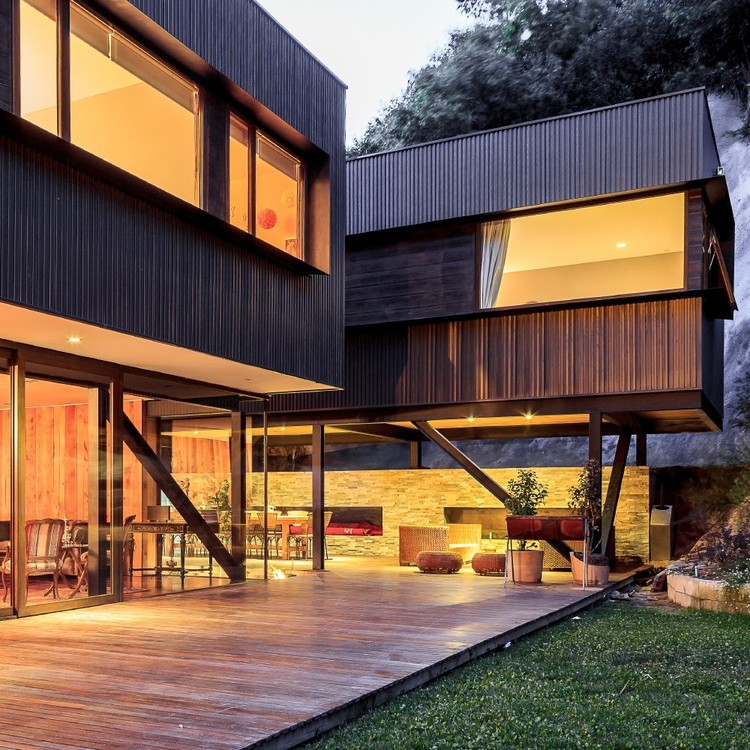 Casa Swett / Prado Arquitectos © Daniel Pinilla