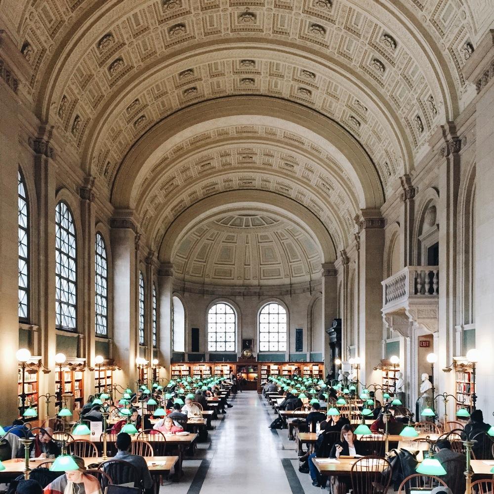 872691a762 A beleza de bibliotecas ao redor do mundo pelas lentes de Olivier  Savoie,Boston Public
