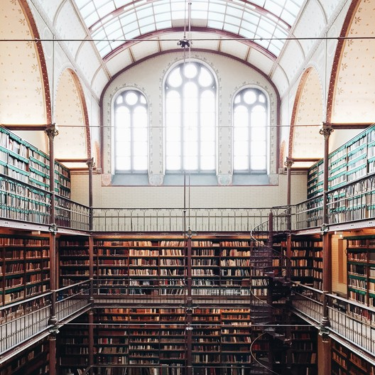 Rijksmuseum Library, Amsterdam. Image © Olivier Martel Savoie, @une_olive