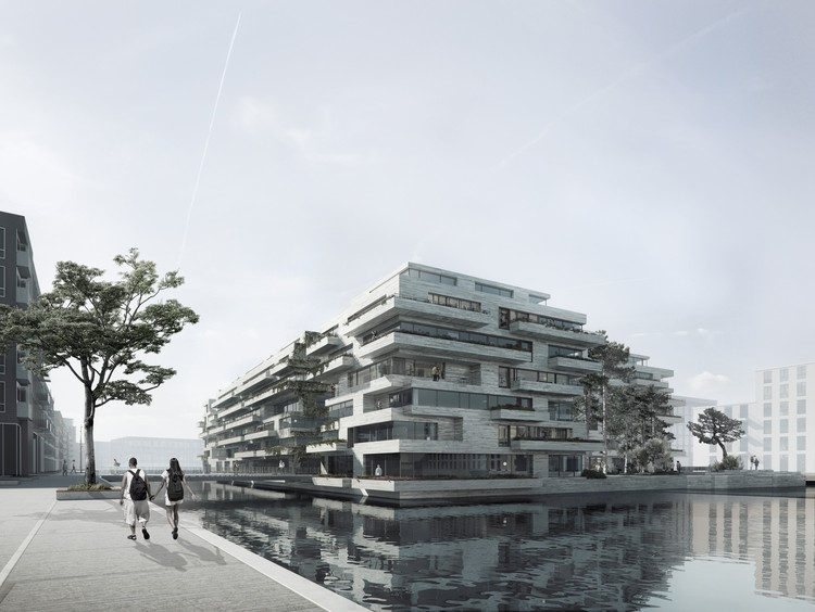 "Brand New Island in Copenhagen Will Act as ""Stepping Stone"" Between Two Neighborhoods, Courtesy of COBE, Vilhelm Lauritzen Architects and Sted"