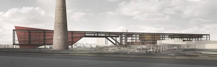 Resultado do 9° Concurso do CBCA para Estudantes de Arquitetura, 1º Lugar. Image Cortesia de CBCA