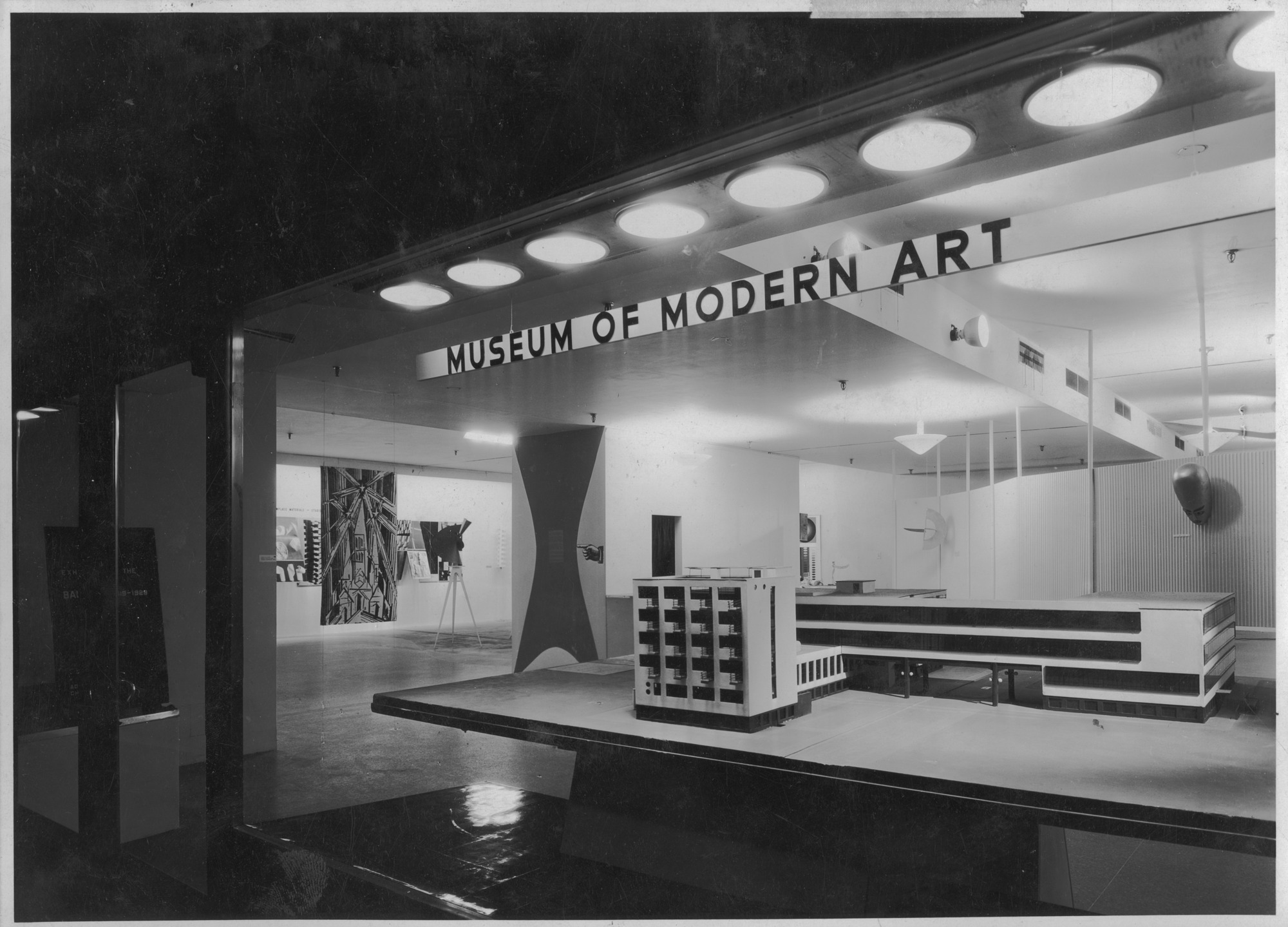 MoMA Launches Online Database Of 3500 Past Exhibitions Installation View The Exhibition Bauhaus