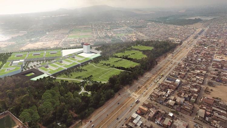 Juegos Panamericanos Lima 2019 en la mira: 5 puntos para una mejor infraestructura deportiva, <a href='http://www.ipd.gob.pe/'>Proyecto en Villa El Salvador para la Villa Panamericana de los Juegos Panamericanos Lima 2019</a>. Image vía IPD