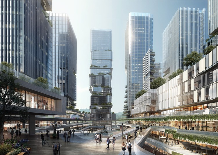 10 DESIGN Wins Competition for Massive Urban Development in Zhuhai, Courtesy of 10 Design