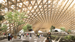 Erik Giudice Architecture Releases Proposal for Sustainable Transit Station Inspired by Matchsticks