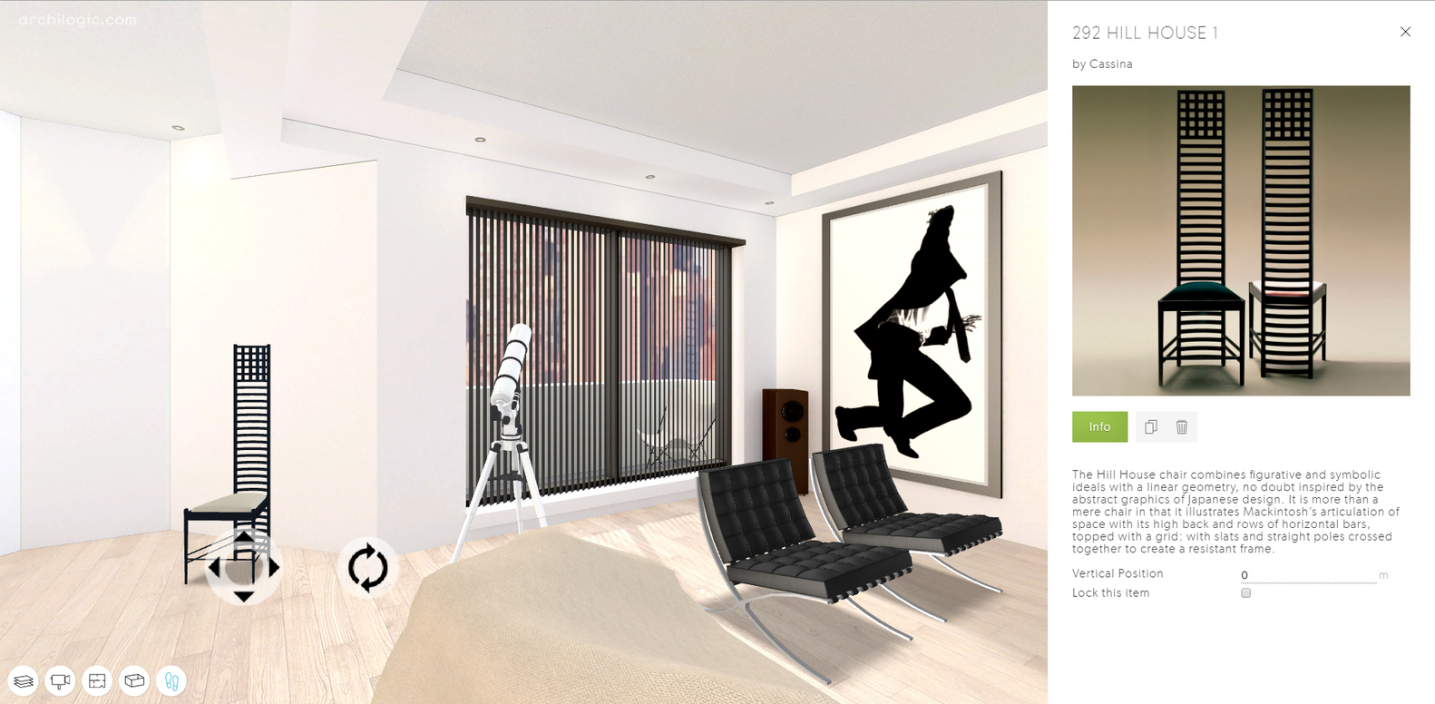 American psycho apartment best home design 2018 for Apartment design virtual