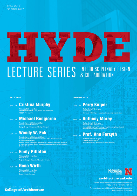 2016/2017 Hyde Lecture Series – University of Nebraska-Lincoln, Hyde Lecture Series