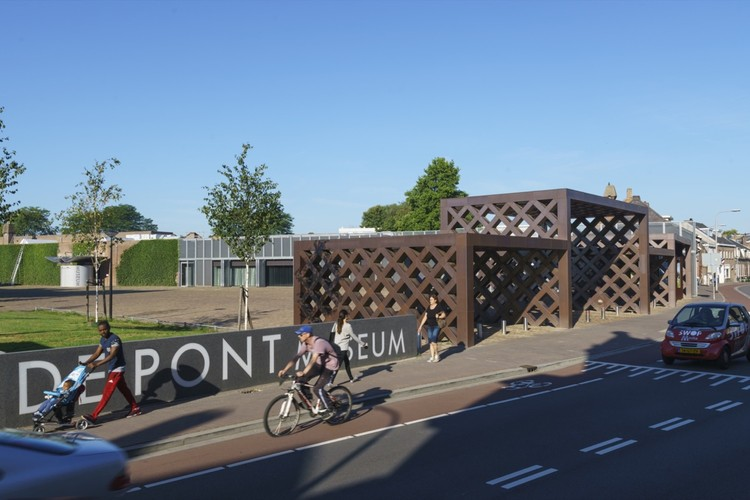 Museum De Pont Expansion and New Entrance Gate / Benthem Crouwel Architects, © Jannes Linders