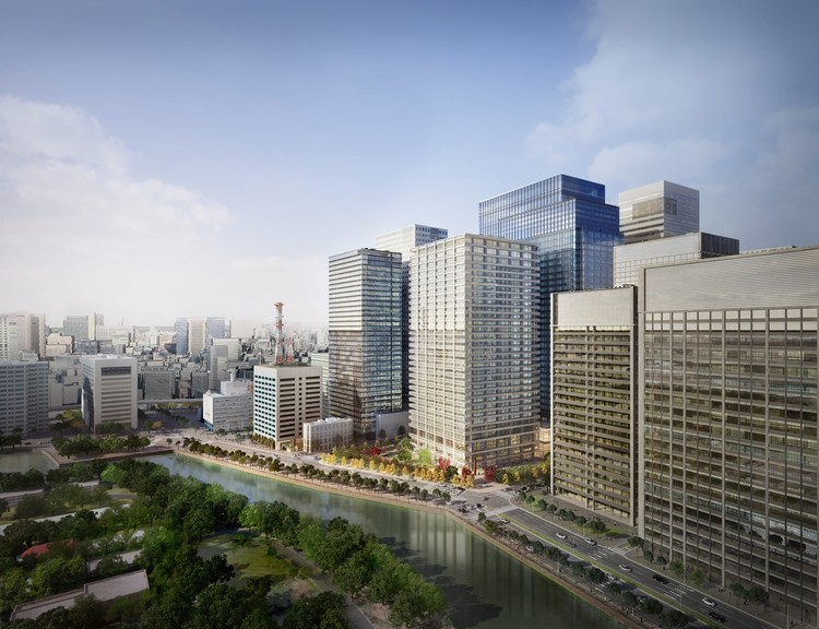 SOM Breaks Ground on One of the Largest Redevelopments in Tokyo's History, © Methanoia