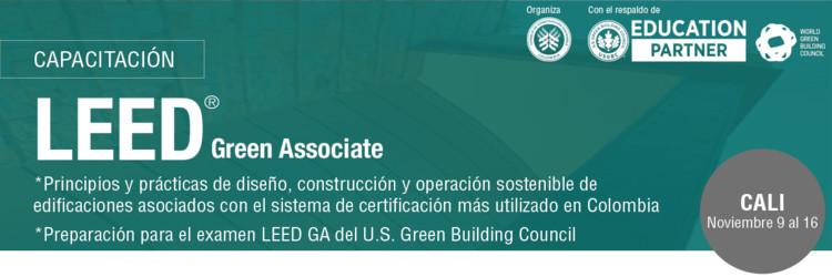 Formación profesional LEED GA – Cali, CCCS