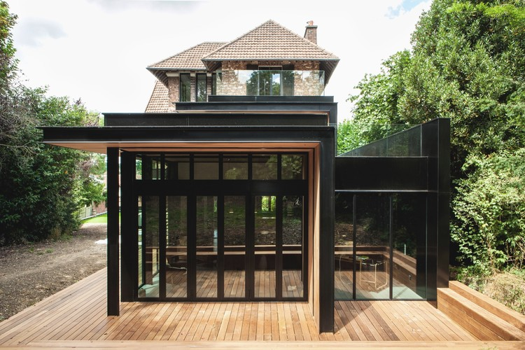 Casa única en Haut  / Atelier Lame Architecture, © Lionel Macor