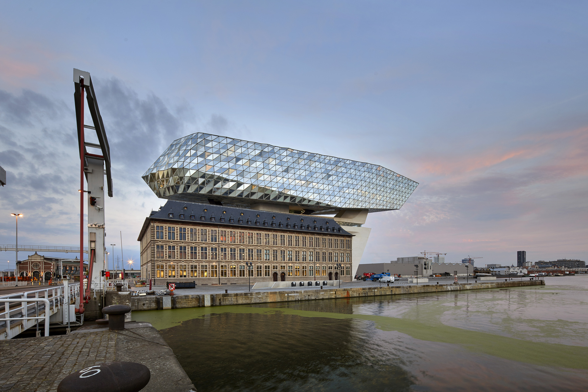 Gallery of antwerp port house zaha hadid architects 20 - Port d anvers belgique adresse ...
