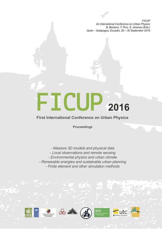 Primera Conferencia Internacional de Física Urbana / Ecuador, Jairo Acuña