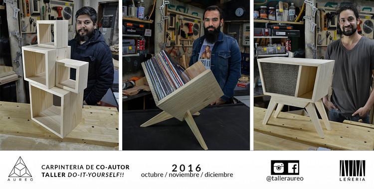 Curso carpintería DO-IT-YOURSELF! / Santiago, Fotografias por Taller Aureo