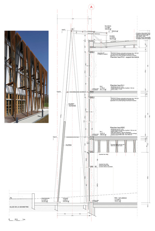 sede de la universidad saint quentin de versalles fabienne bulle architecte associ s. Black Bedroom Furniture Sets. Home Design Ideas