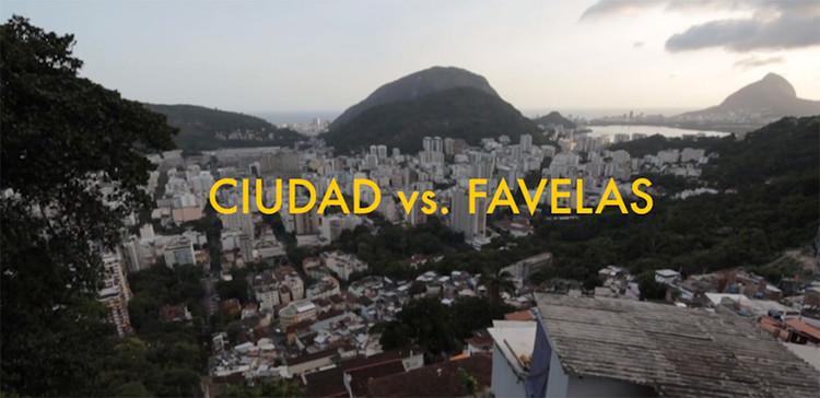 """""""CIUDAD vs. FAVELAS"""": Uma reflexão sobre as ocupações informais no Rio de Janeiro, via Screenshot do documentário"""