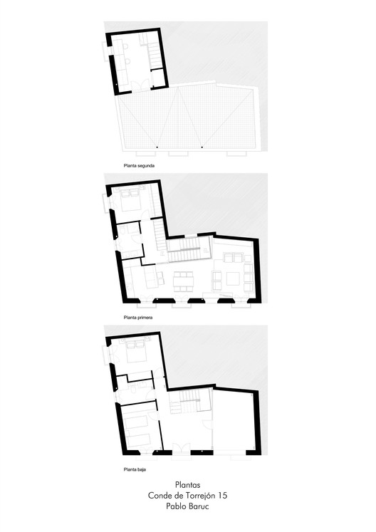 House Refurbishment in Conde de Torrejon Street / Pablo