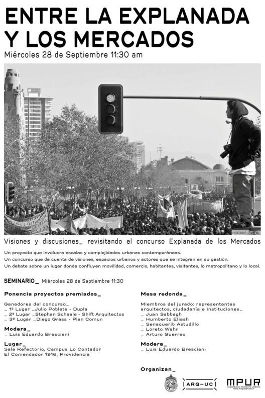 Entre la Explanada y los Mercados / Santiago