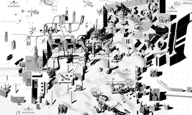 4ª Trienal de Arquitectura de Lisboa: Exposição : O Mundo nos Nossos Olhos, Augmented-Domesticity. Image © Pedro Pitarch