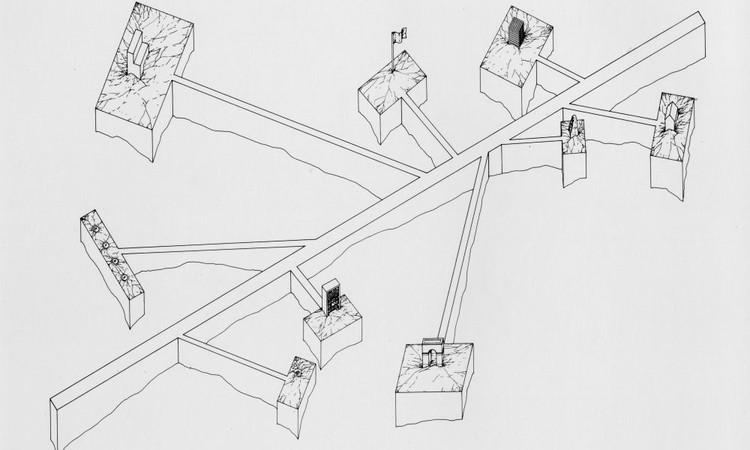 4ª Trienal de Arquitectura de Lisboa: Exposição : A Forma da Forma, Hans Dieter Schaal, Paths and Passages 1978, Alemanha. Image © Hans Dieter Schaal