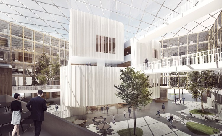 Henning Larsen Architects Wins Competition to Design New City Hall in Uppsala, © Henning Larsen Architects