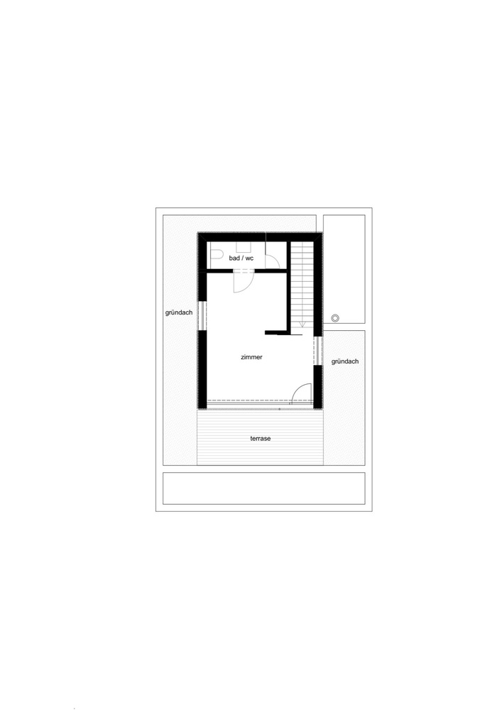 Attractive House D,Second Floor Plan