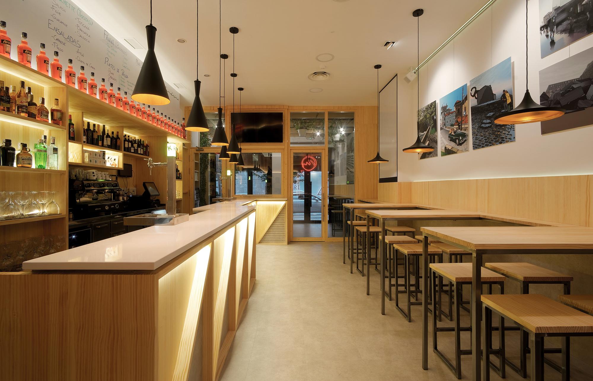 Malandrino Caff Bar Pura Arquitectura Plataforma