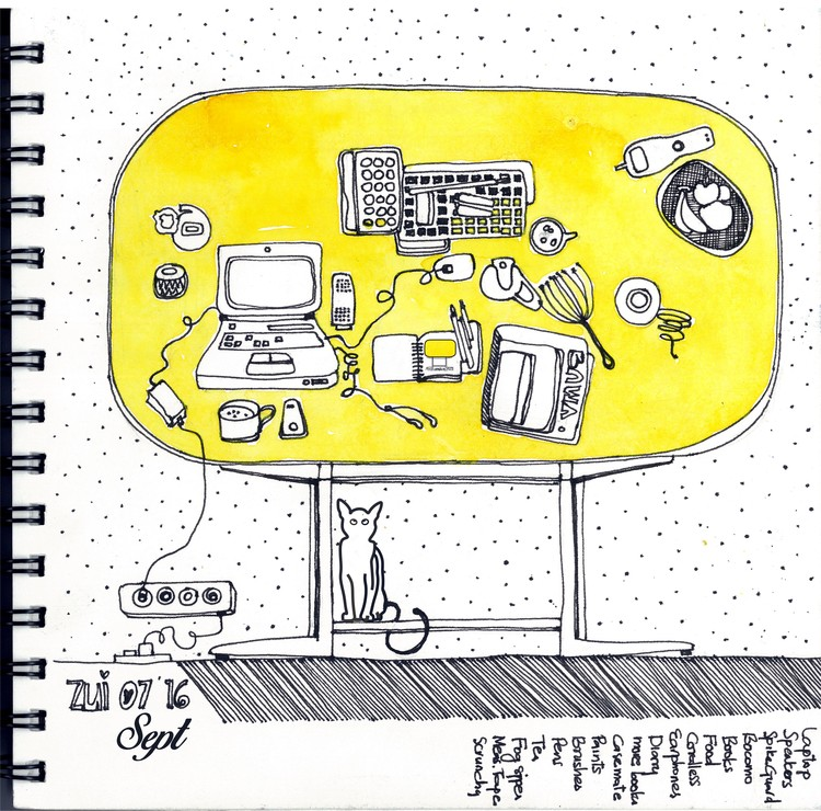 42 Sketches Drawings And Diagrams Of Desks And