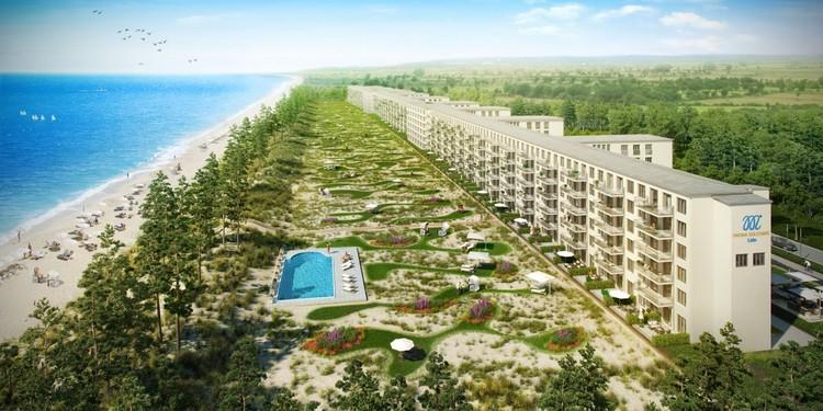 Resort nazista em Rügen será transformado em conjunto de luxo, © Metropole Marketing