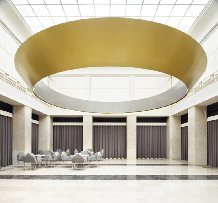 Lobby Renovation for the Bank of Slovenia / SADAR+VUGA , © Miran Kambič