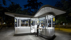 Madrid Tourist Information Pavilions / José Manuel Sanz Arquitectos + Irene Brea