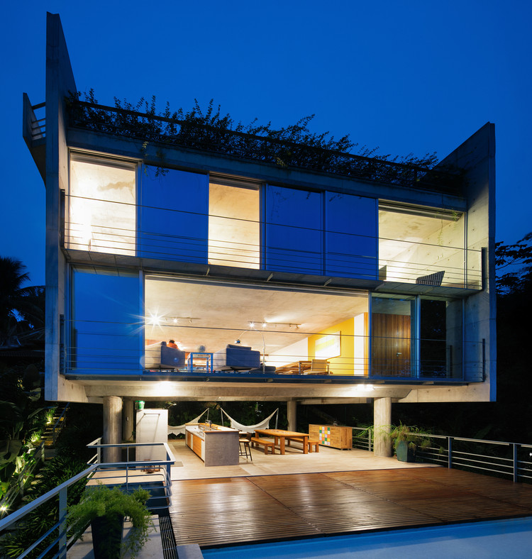 Casa em Ubatuba II / SPBR Arquitetos, © Nelson Kon