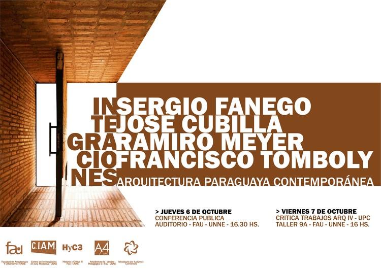 Workshop Integraciones: Arquitectura Paraguaya Contemporánea / Resistencia, Chaco, Workshop INTEGRACIONES - Arquitectura Paraguaya Contemporánea en la UNNE