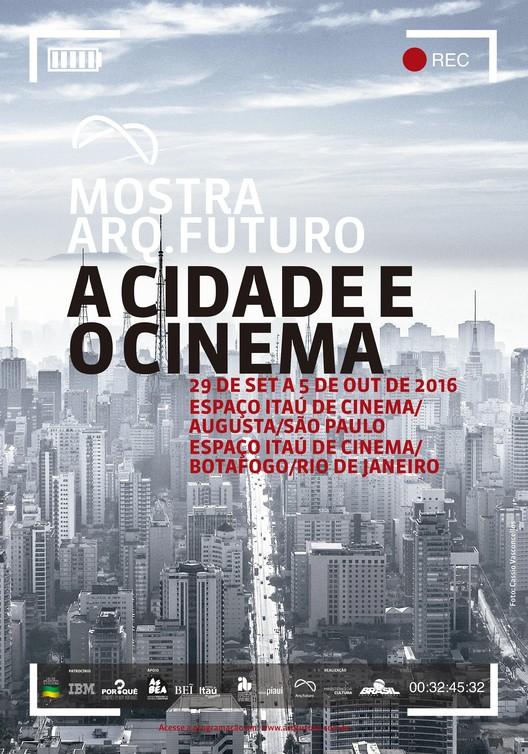 MOSTRA ARQ.FUTURO - A CIDADE E O CINEMA terá sessões gratuitas em São Paulo e no Rio de Janeiro, credito  foto Cassio Vasconcellos