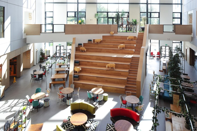 Moneypenny Headquarters Aew Architects Archdaily