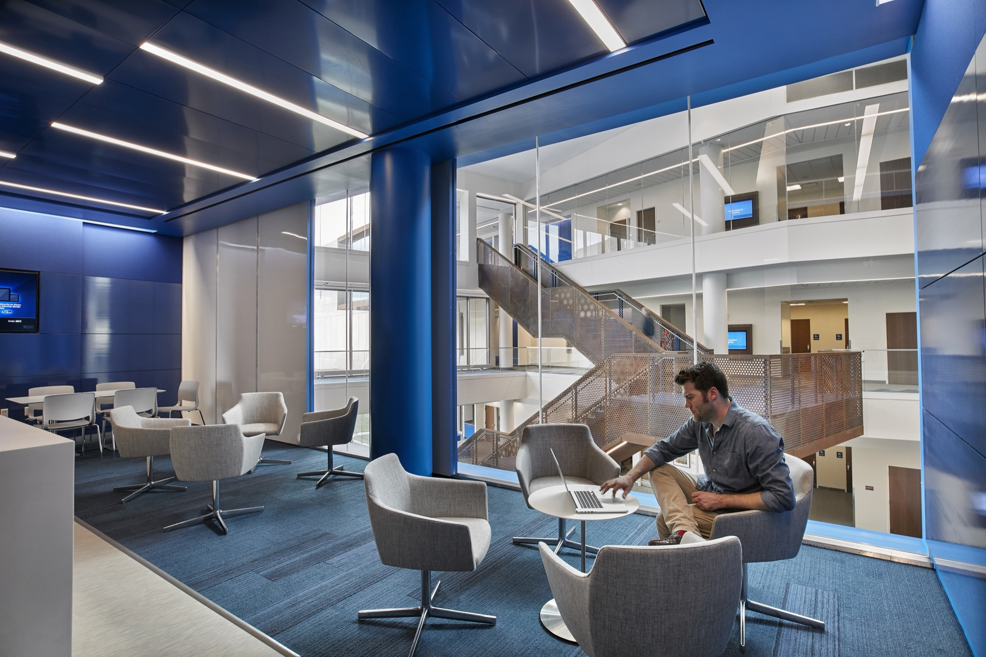 Gallery of capitol federal hall gensler 1 for It company interior design