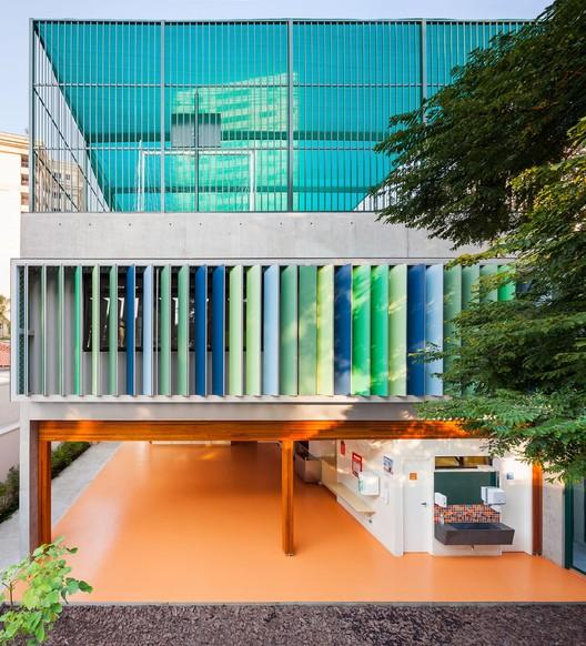 School in Alto de Pinheiros / Base Urbana  + Pessoa Arquitetos, © Pedro Vannucchi