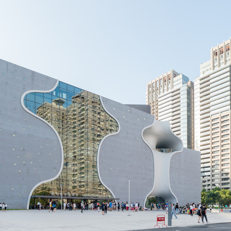 Taichung Metropolitan Opera House de Toyo Ito, pelas lentes de Lucas K Doolan, © Lucas K. Doolan