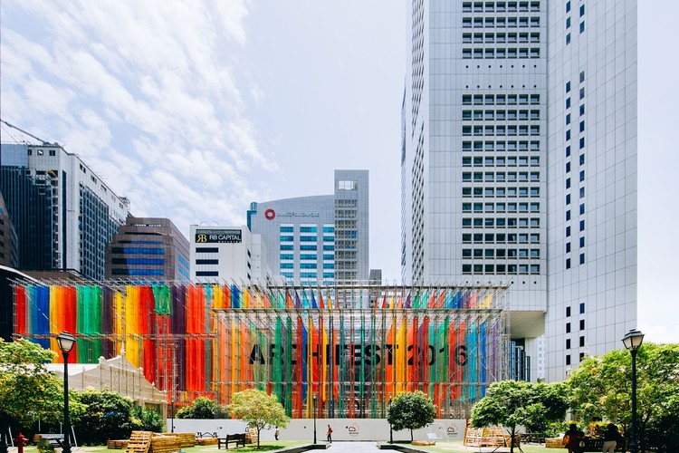 Archifest 2016 Pavilion / DP Architects, © Teo Zi Tong
