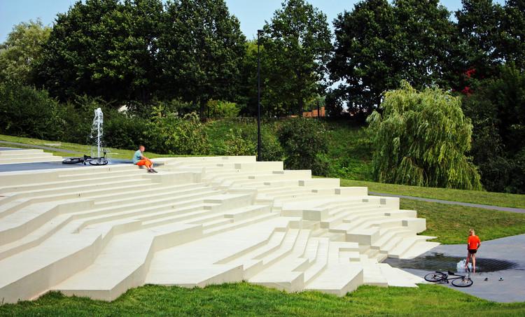 Park in Jurbarkas / ARARTE, © Agnė Gabrėnienė