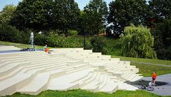Park in Jurbarkas / ARARTE
