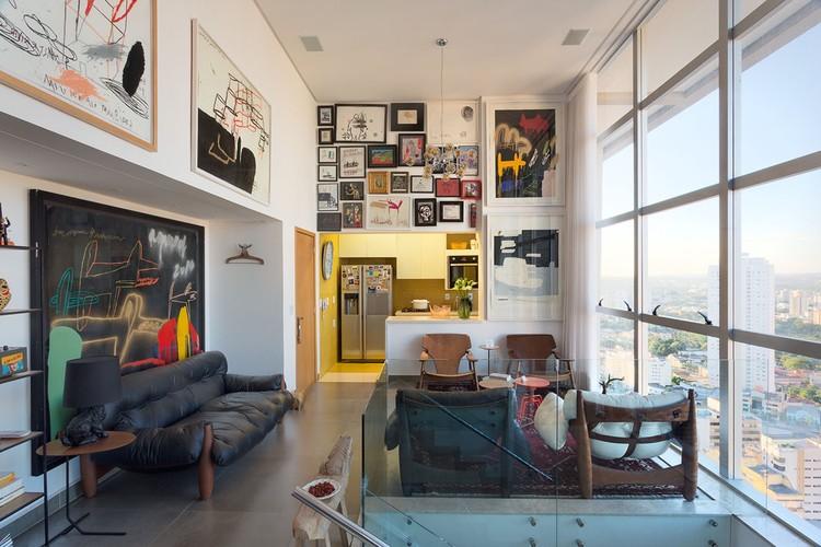 Apartamento MS / Daniel Almeida Arquitetura, © Paulo Dourado