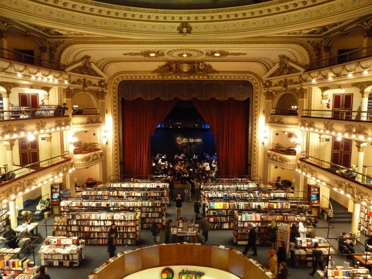 Ateneo Grand Splendid en Buenos Aires: historia de una de las librerías más hermosas del mundo, vía © Wikipedia User: Galio Licensed under CC BY-SA 3.0