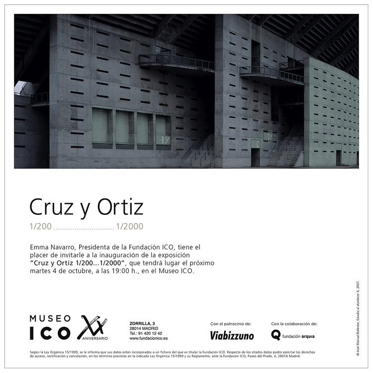 Exposición 'Cruz y Ortiz 1/200...1/2000' en Museo ICO