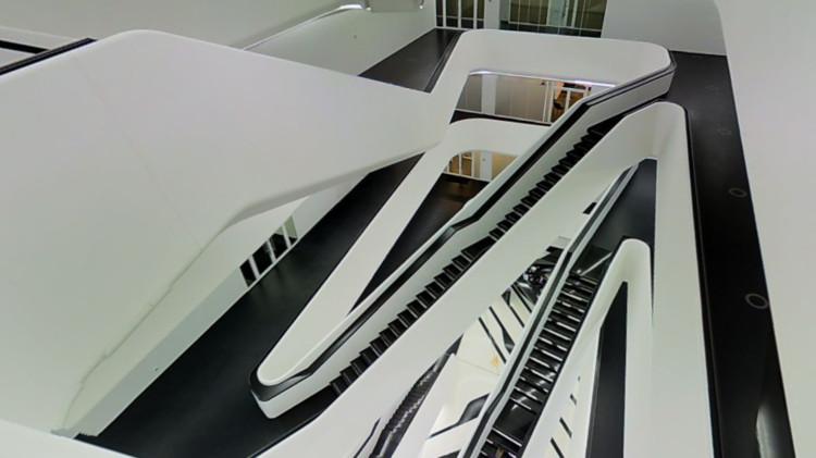 Toma este tour virtual en Dominion, uno de los últimos proyectos de Zaha Hadid, Cortesía de Matterport